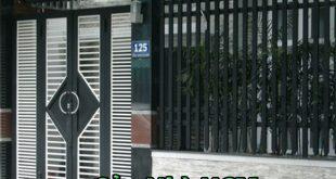 Sơn cửa cổng sắt giúp chống rĩ sét