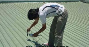 Thi công xử lý dột mái tôn nhà xưởng